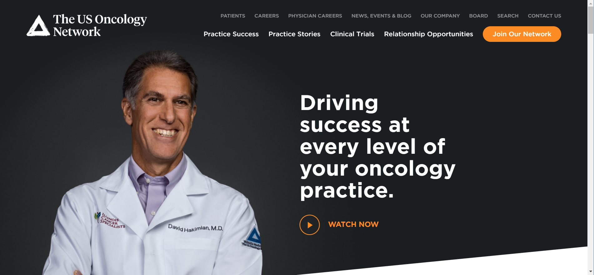 example of a well designed healthcare website