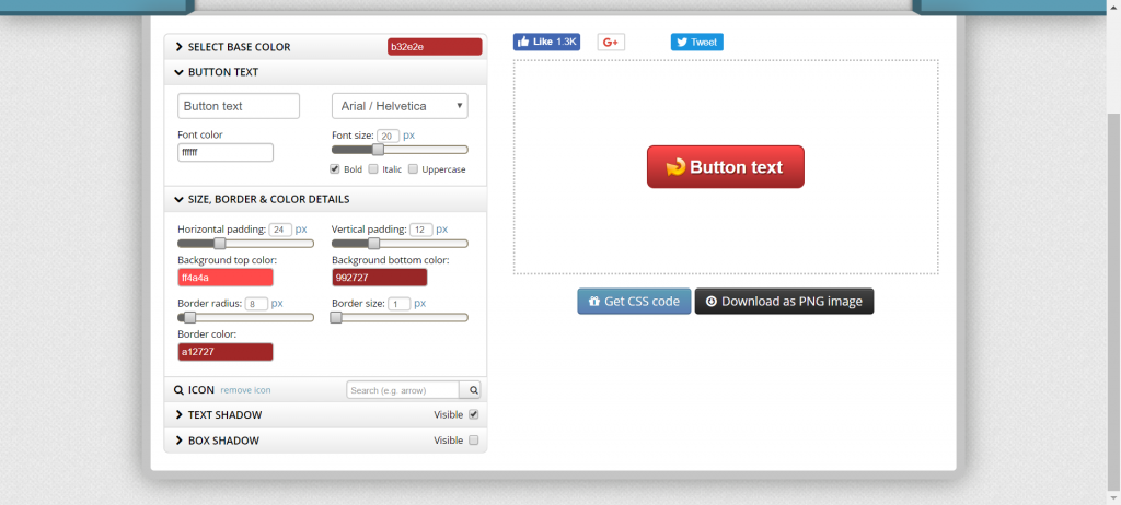 free button creator tool